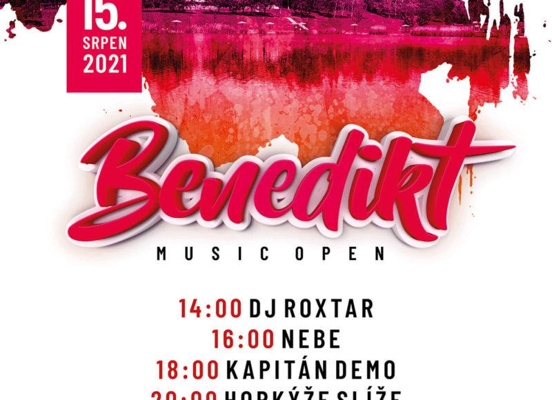 Benedikt Music Open – Most